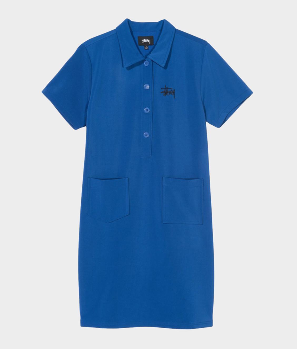 Stussy Stussy Poly Knit Dress Blue