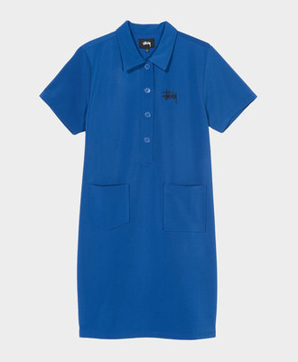 Stussy Stussy Poly Knit Dress Blue
