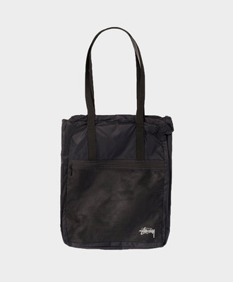 Stussy Stussy Light Weight Travel Tote Bag Black