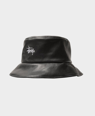 Stussy Stussy Contrast Stitch Bucket Hat Black