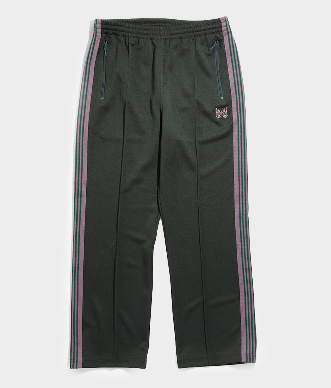 Needles Needles Track Pant Poly Smooth Green