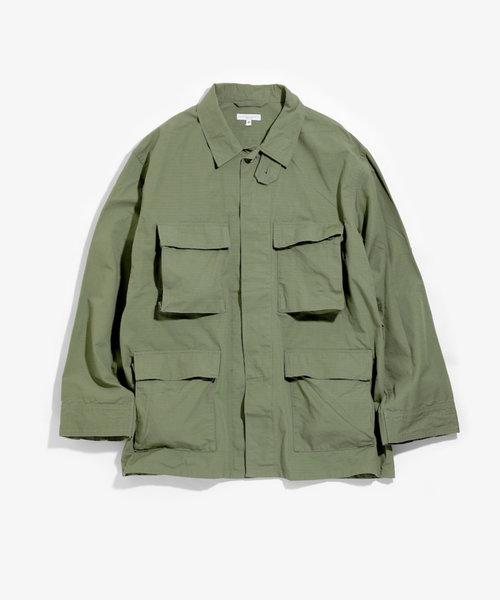 E G BDU Jacket Olive Ripstop