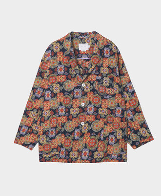 NEUL Neul Suzaani-pattern Blazer Navy