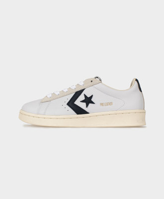 Converse Converse Pro Leather Low Top White Obsidian