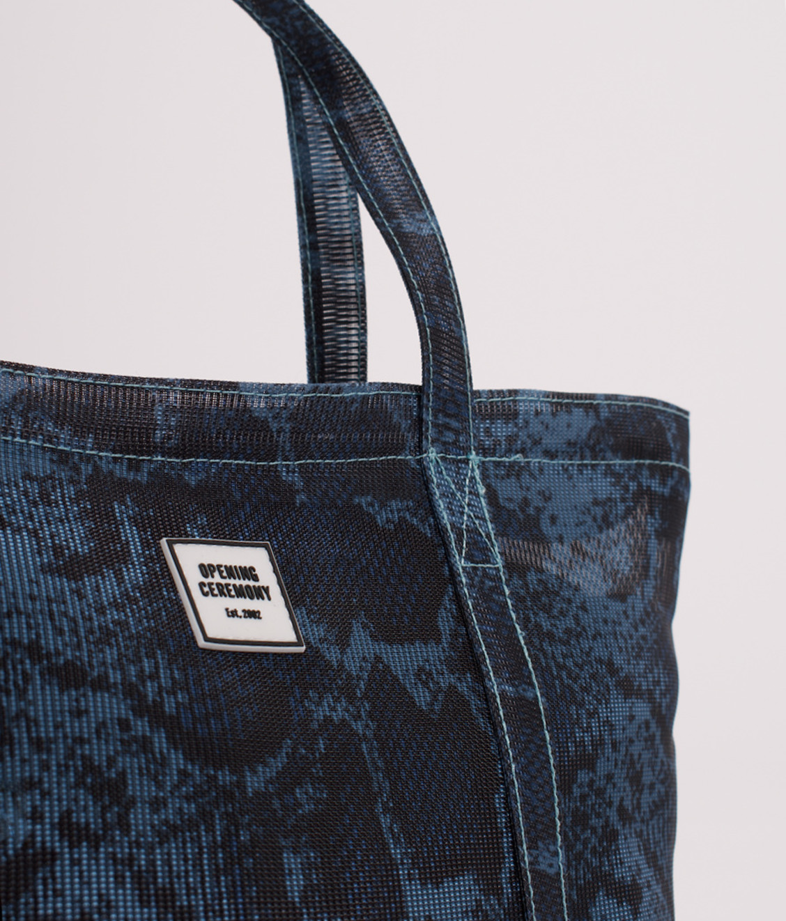 Opening Ceremony OC Small Mesh Chinatown Tote Natural
