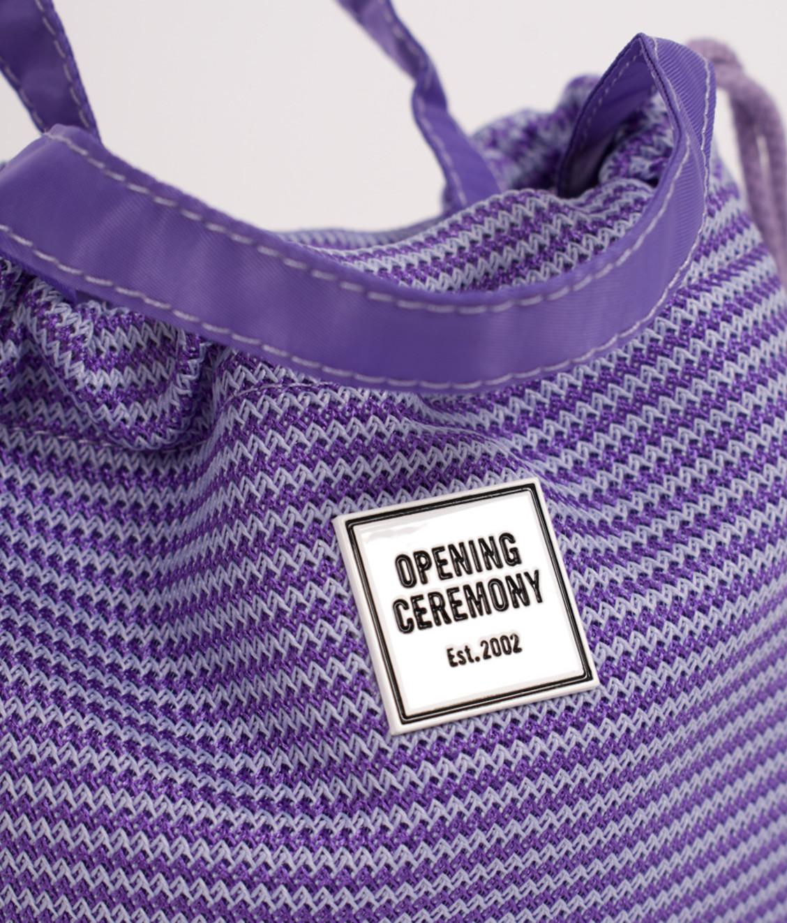 Opening Ceremony OC Circular Mesh Drawstring Bag