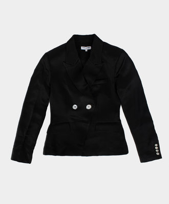 Opening Ceremony OC Satin Blazer Black