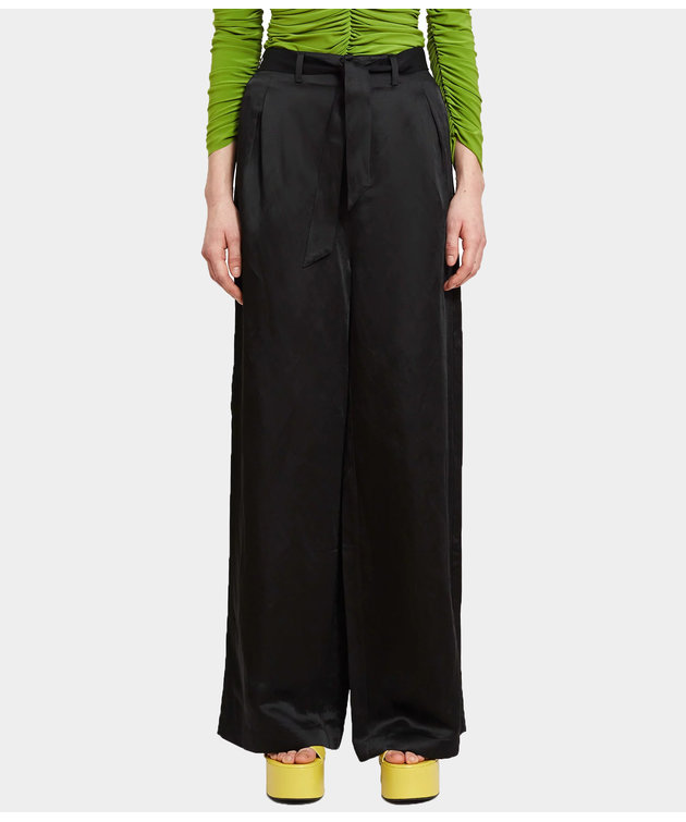 Opening Ceremony OC High Waisted Belted Pant Black