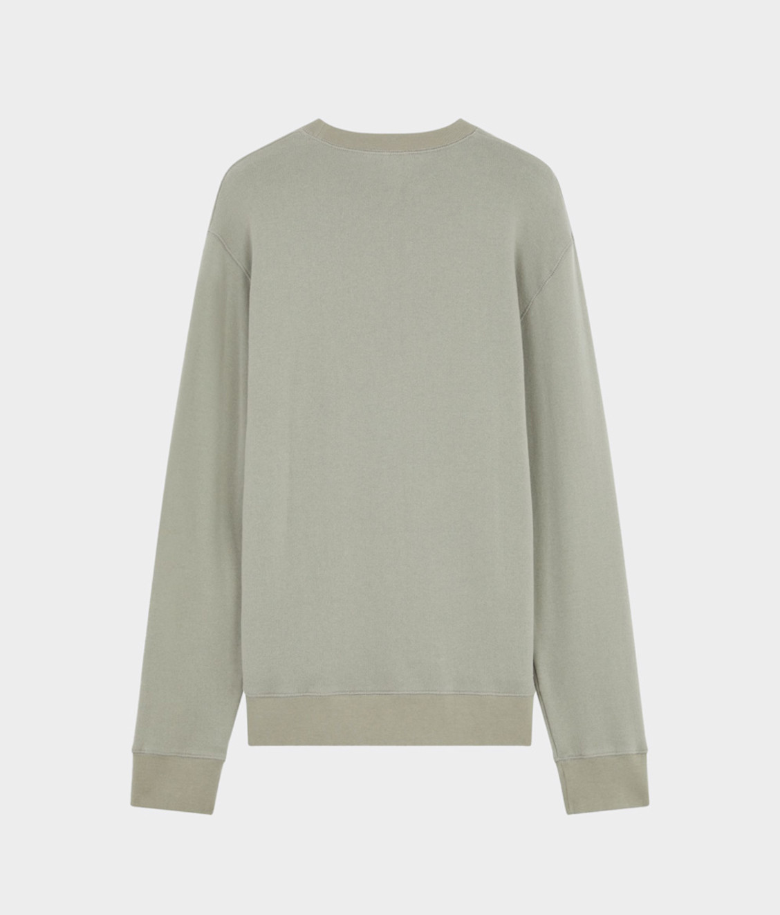 Maison Kitsune Maison Kitsune Regular Fit Sweatshirt Light Grey