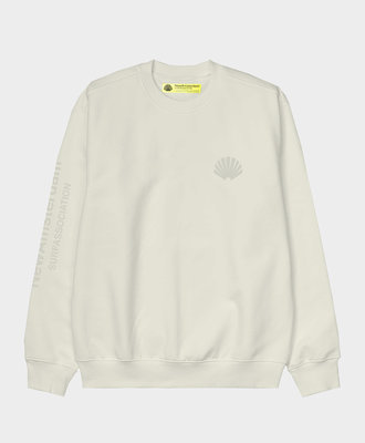 New Amsterdam New Amsterdam Logo Sweater Offwhite