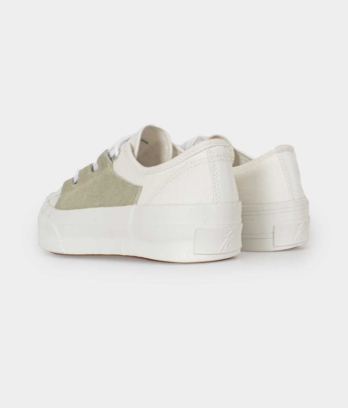 Needles Needles Asymmetric Ghillie Sneaker White