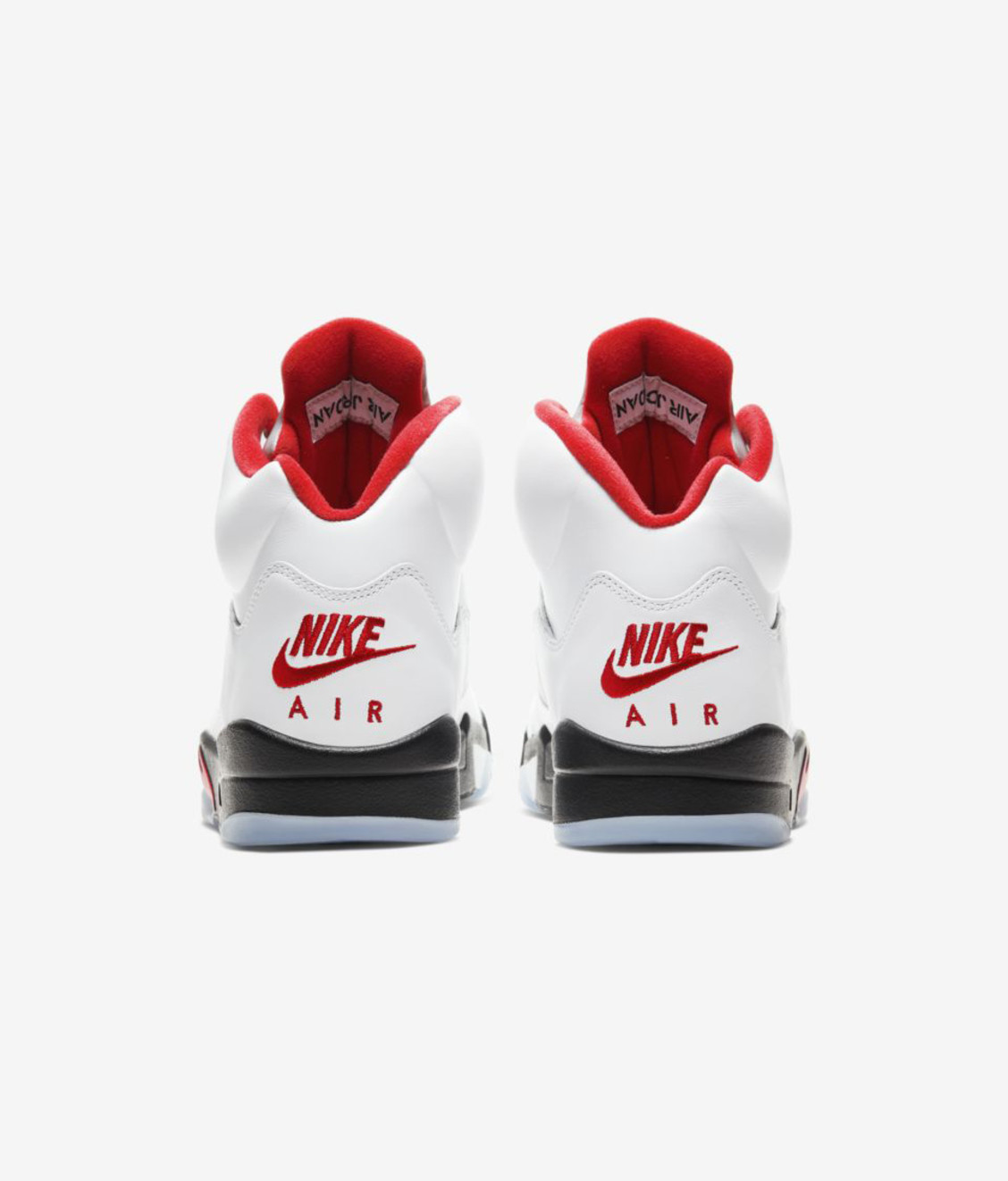 Nike Air Jordan 5 True White Fire Red