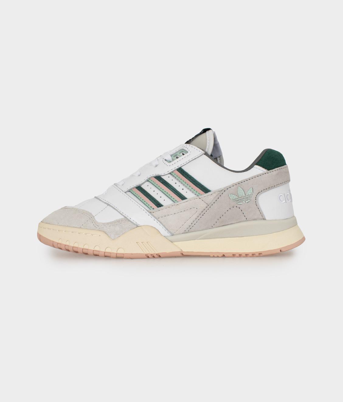 Adidas Adidas A.R Trainer White/Green/Pink