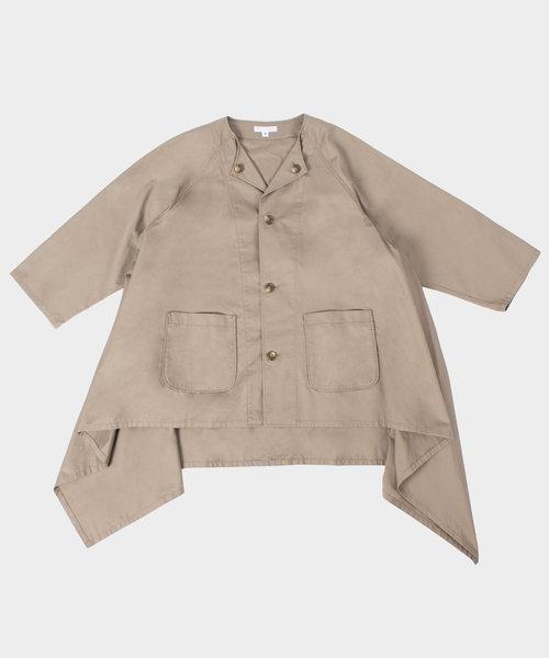Engineered Garments No Collar Raglan Khaki