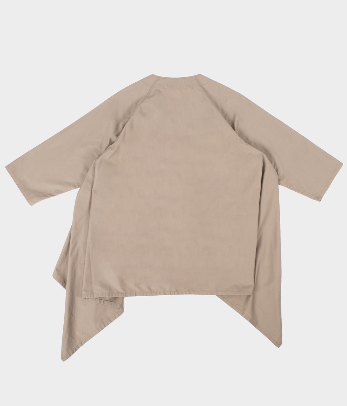 Engineered Garments Engineered Garments No Collar Raglan Khaki