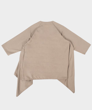 Engineered Garments Engineered Garments No Collar Raglan Khaki