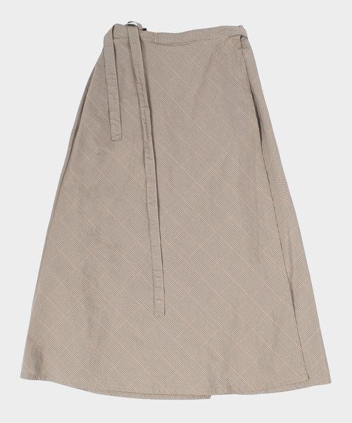 Engineered Garments Wrap Skirt Tattersall