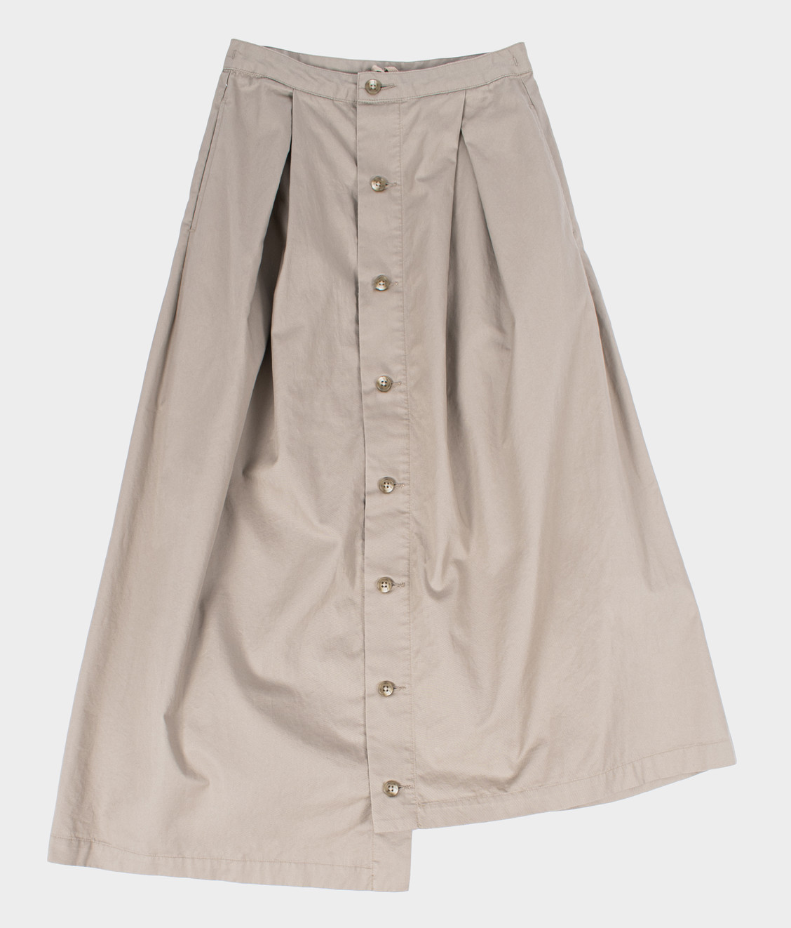 Engineered Garments Engineered Garments Tuck Skirt Khaki