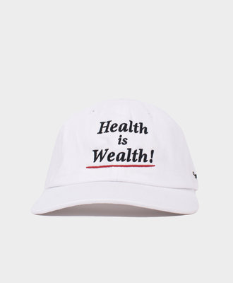 Sporty and Rich SR Health is Wealth Hat Navy