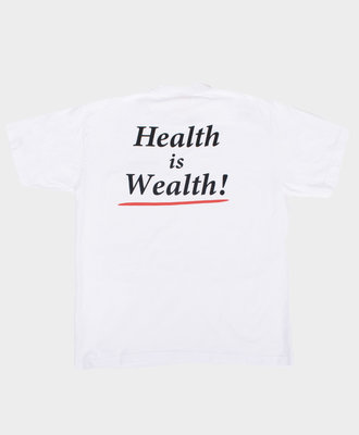 Sporty and Rich SR Health Is Wealth Tee