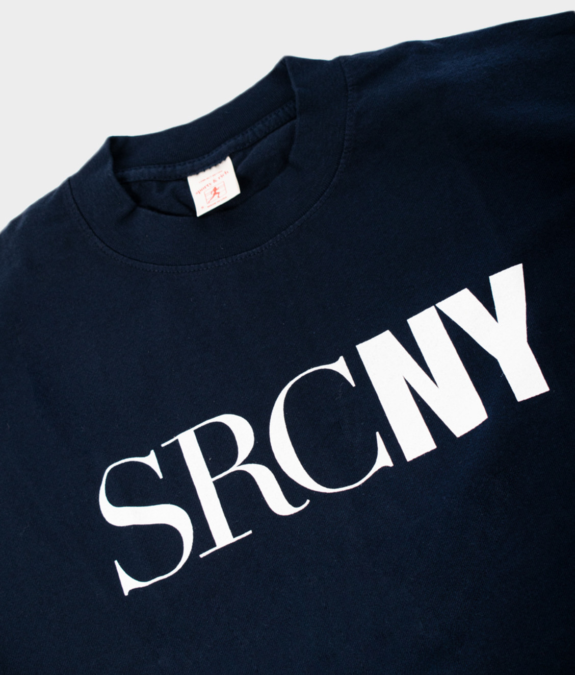 Sporty and Rich SR SRCNY Tee Navy White