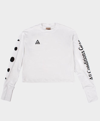 Nike Nike ACG L/S UV Top White