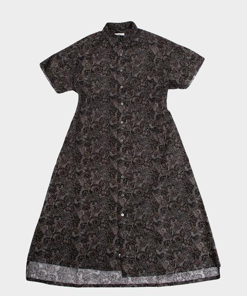 Engineered Garments BD Shirt Dress Paisley Print