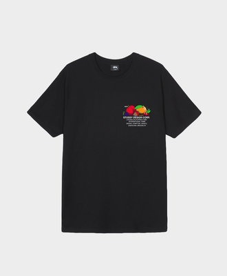 Stussy Stussy Fresh Fruit Tee Black