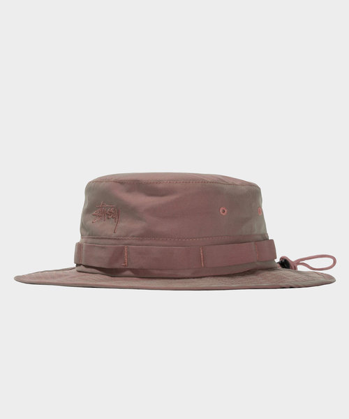 Stussy Iridescent Boonie Hat Red