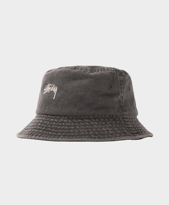 Stussy Stussy Stock Washed Bucket Hat Black
