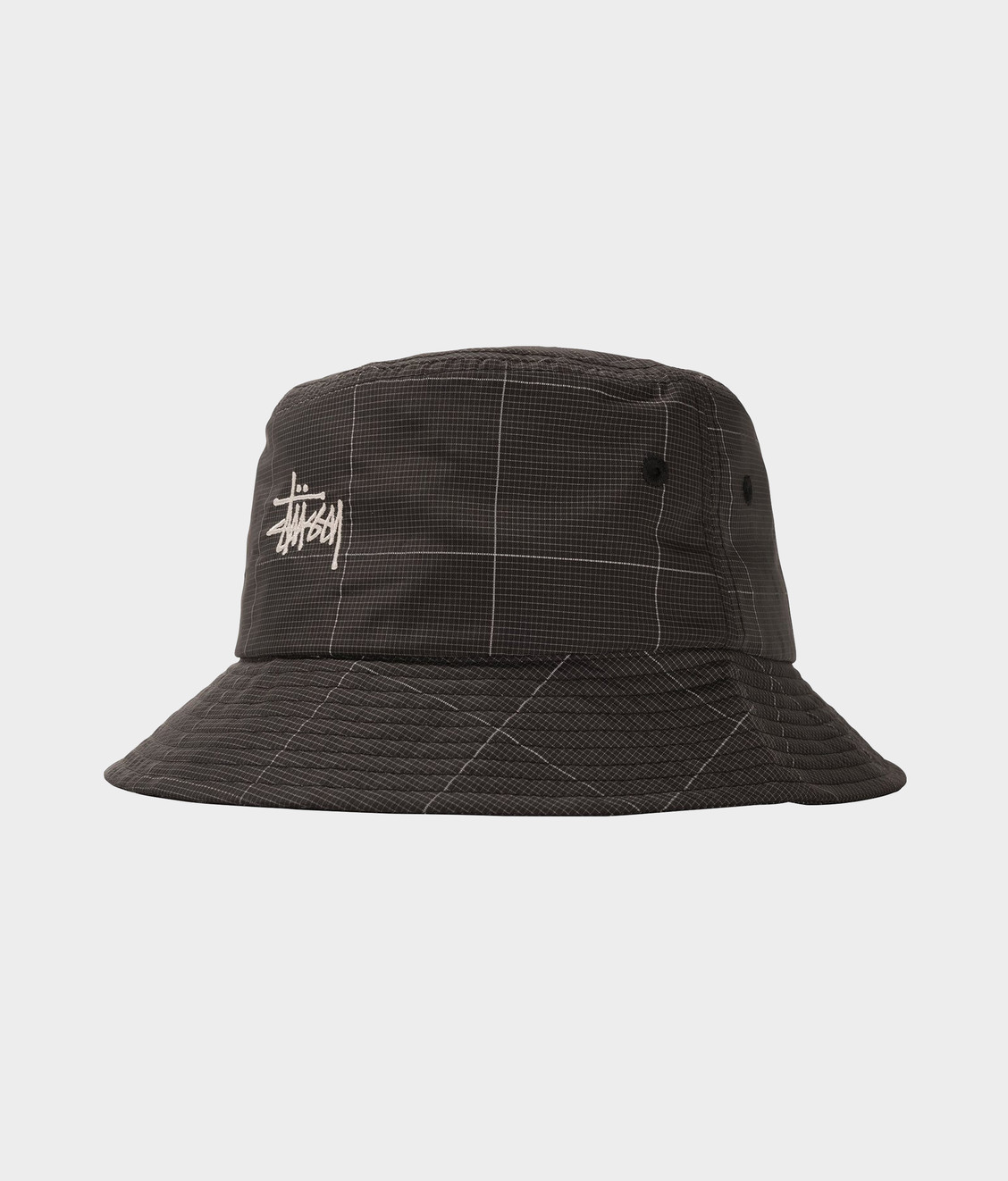 Stussy Stussy Reflective Window Pane Bucket Black