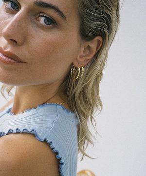Golia Golia Earrings Rosalie Hoops M