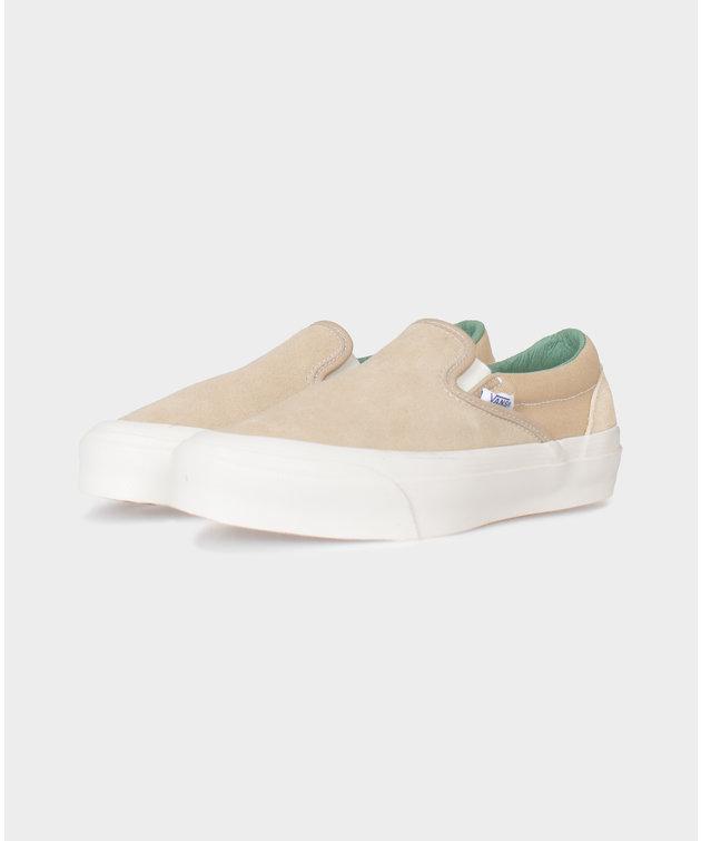 Vans Vans Vault OG Slip-On LX Beige/Pine Green