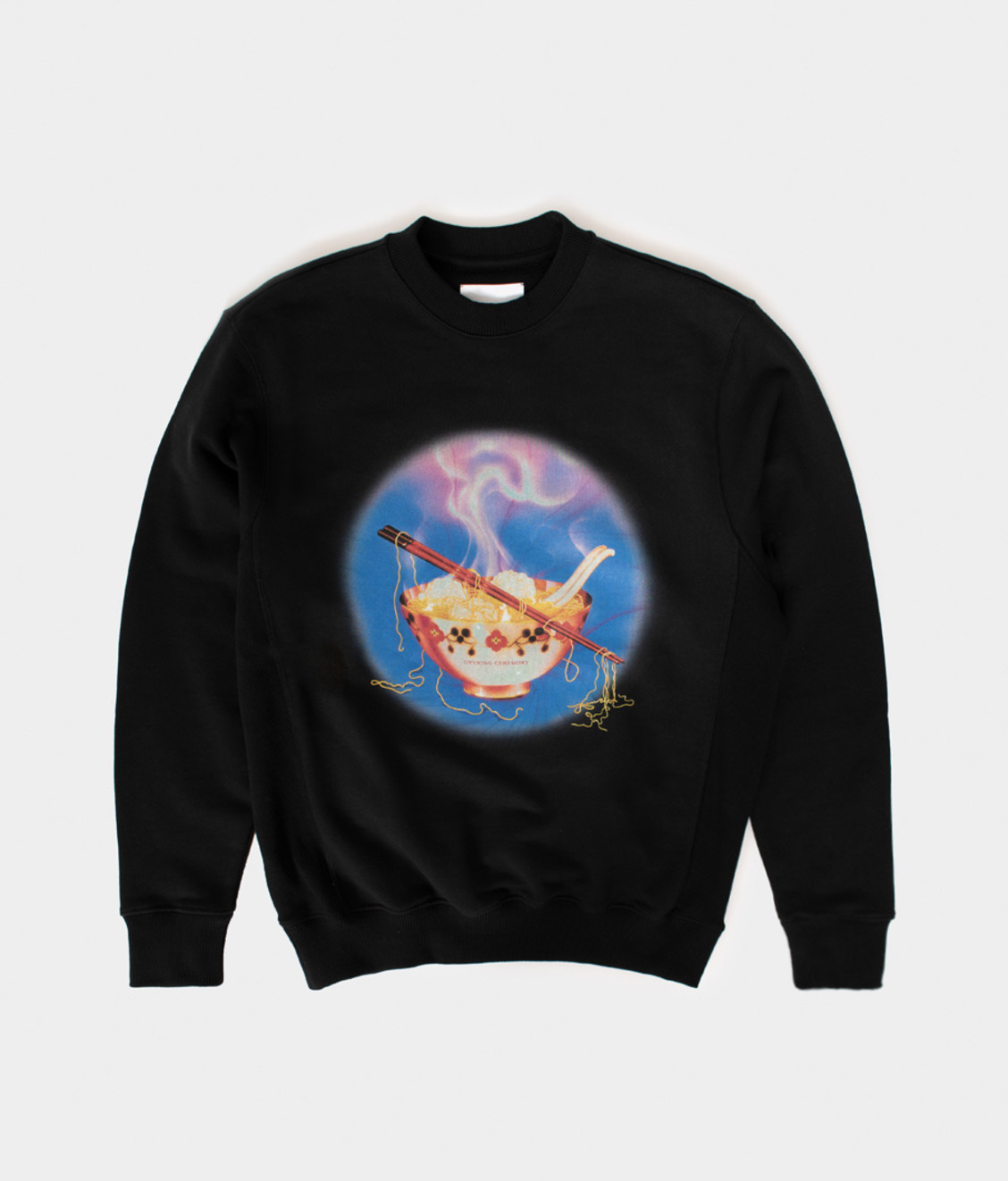 Opening Ceremony OC Noodle Slim Crewneck Deep Smoke