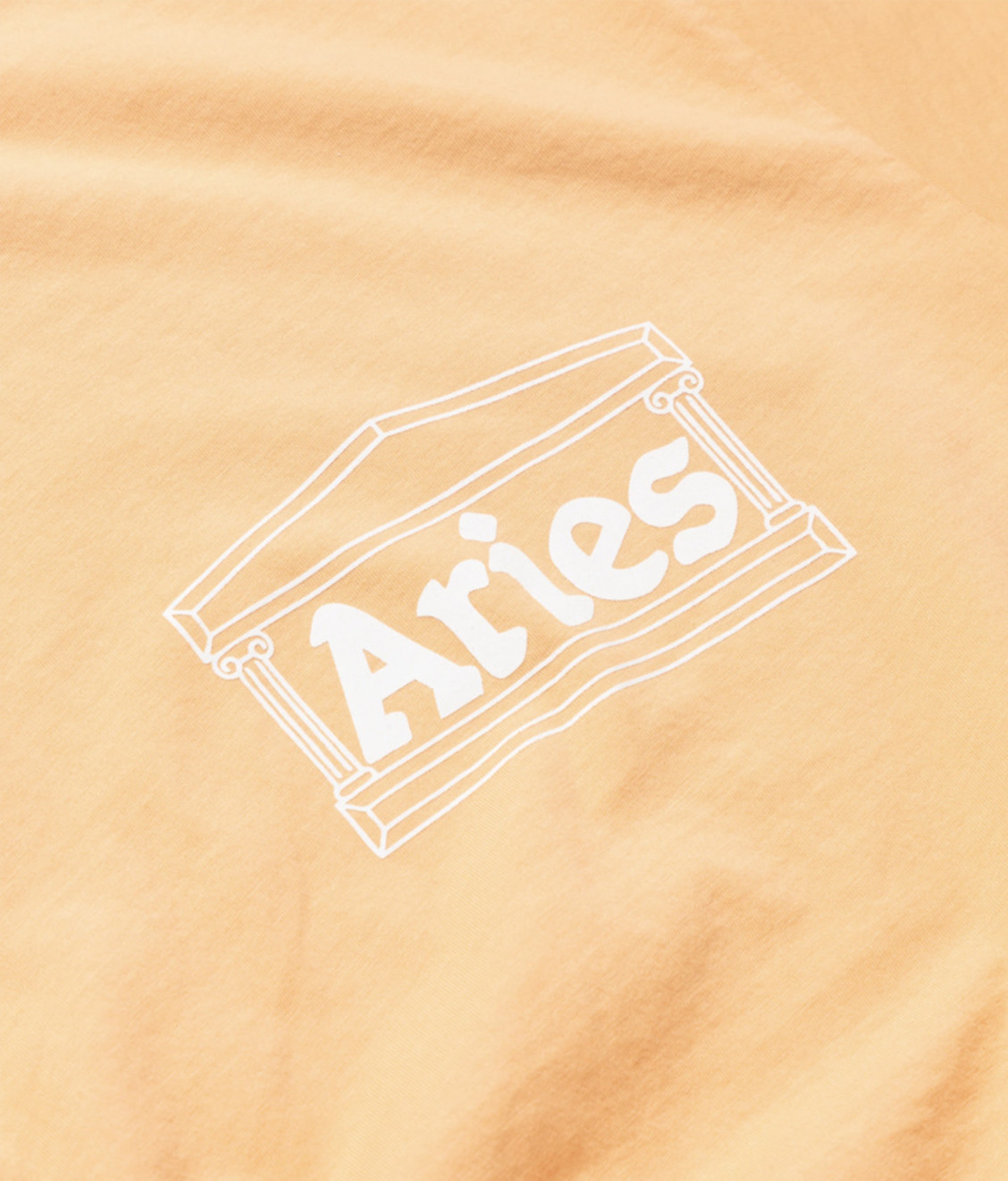 Aries Aries Ring Tee Peach