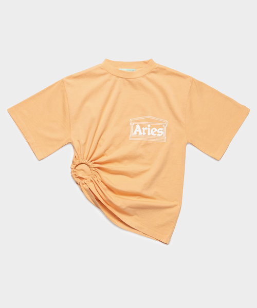 Aries Ring Tee Peach