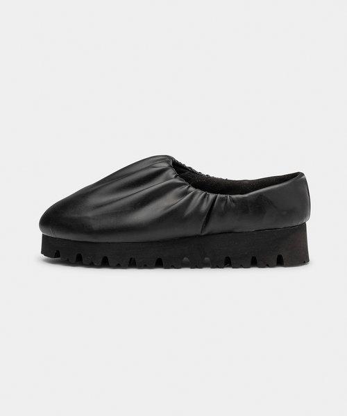 Yume Nawa Camp Shoe Low Black
