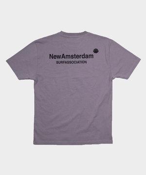 New Amsterdam New Amsterdam Logo Tee Gray
