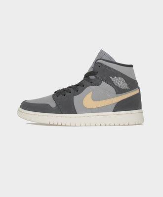 Nike Nike Air Jordan 1 W Mid Iron Grey