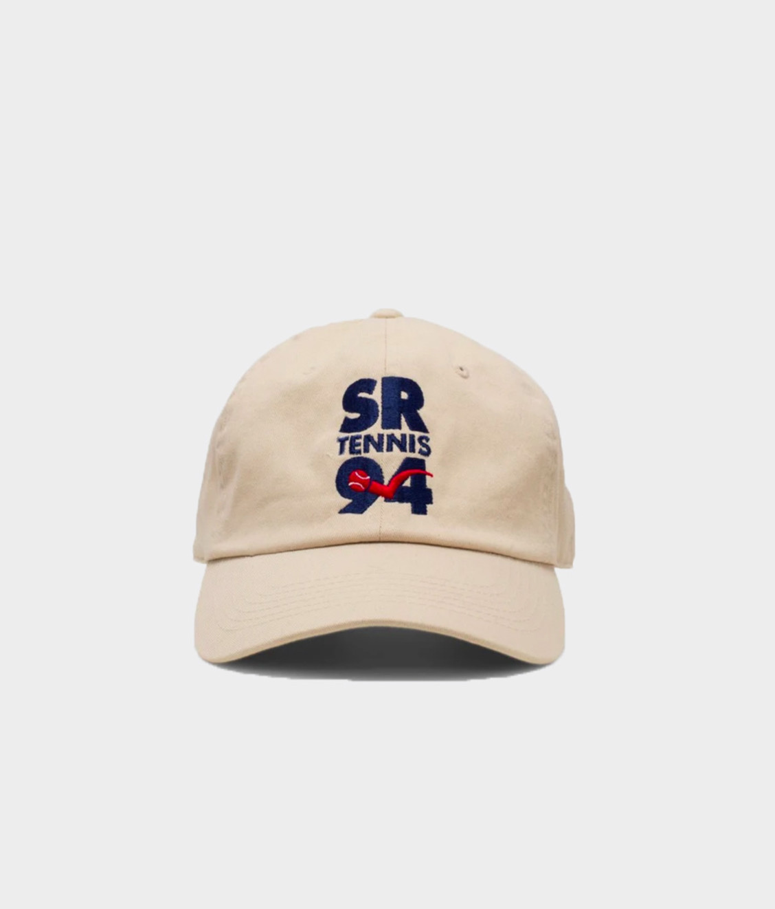 Sporty and Rich SR Tennis 94 Hat Off White