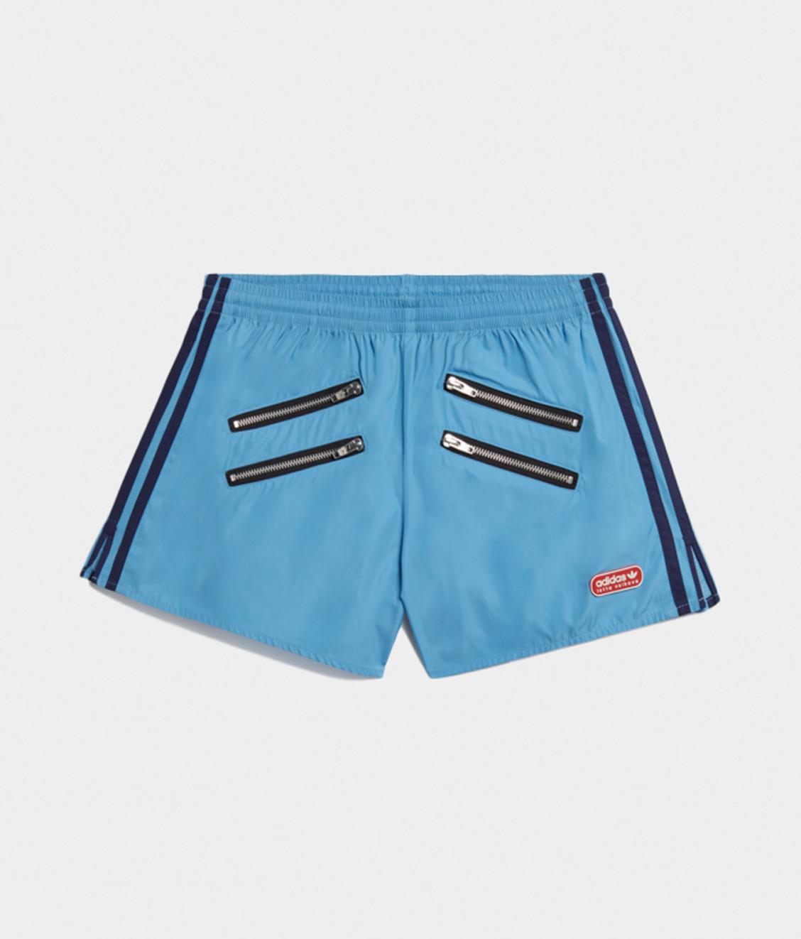 Adidas Adidas Lotta Volkova Zip Short Light Blue