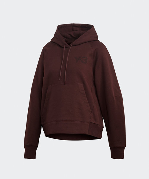 Y-3 W Classic Chest Logo Hoodie Night Red