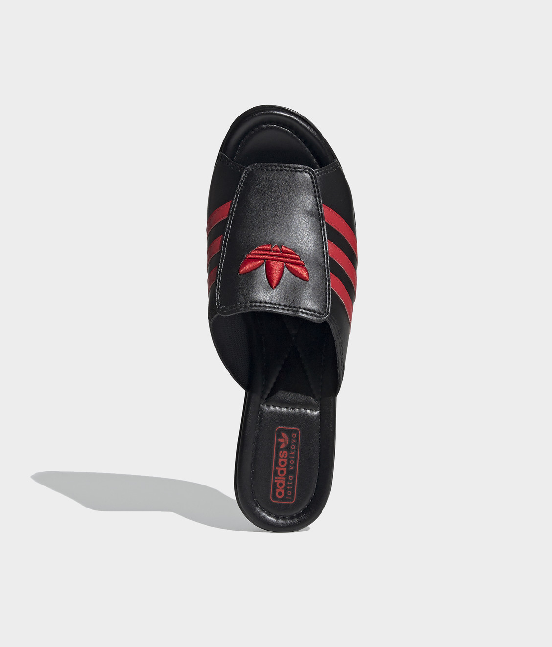 Adidas Adidas Lotta Volkova Trefoil Clogs Black