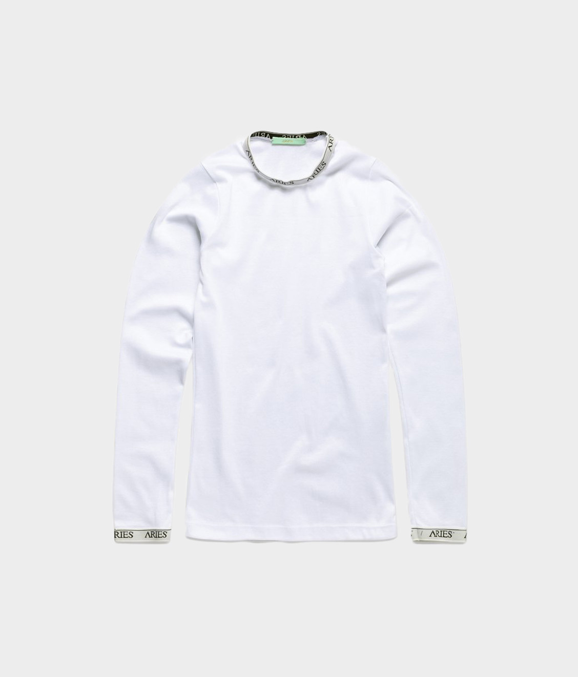 Aries Aries Cotton Ls Top White