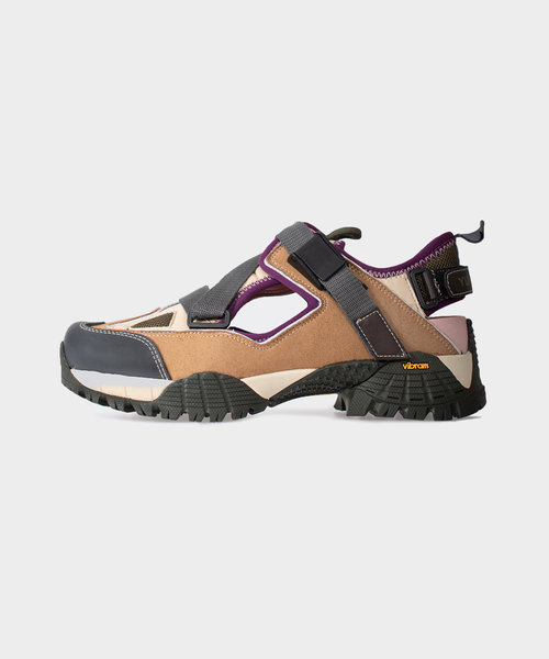 Yume Hiking Sandal Brown Forest Night