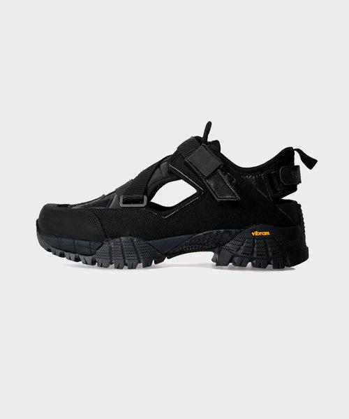 Yume Hiking Sandal Black