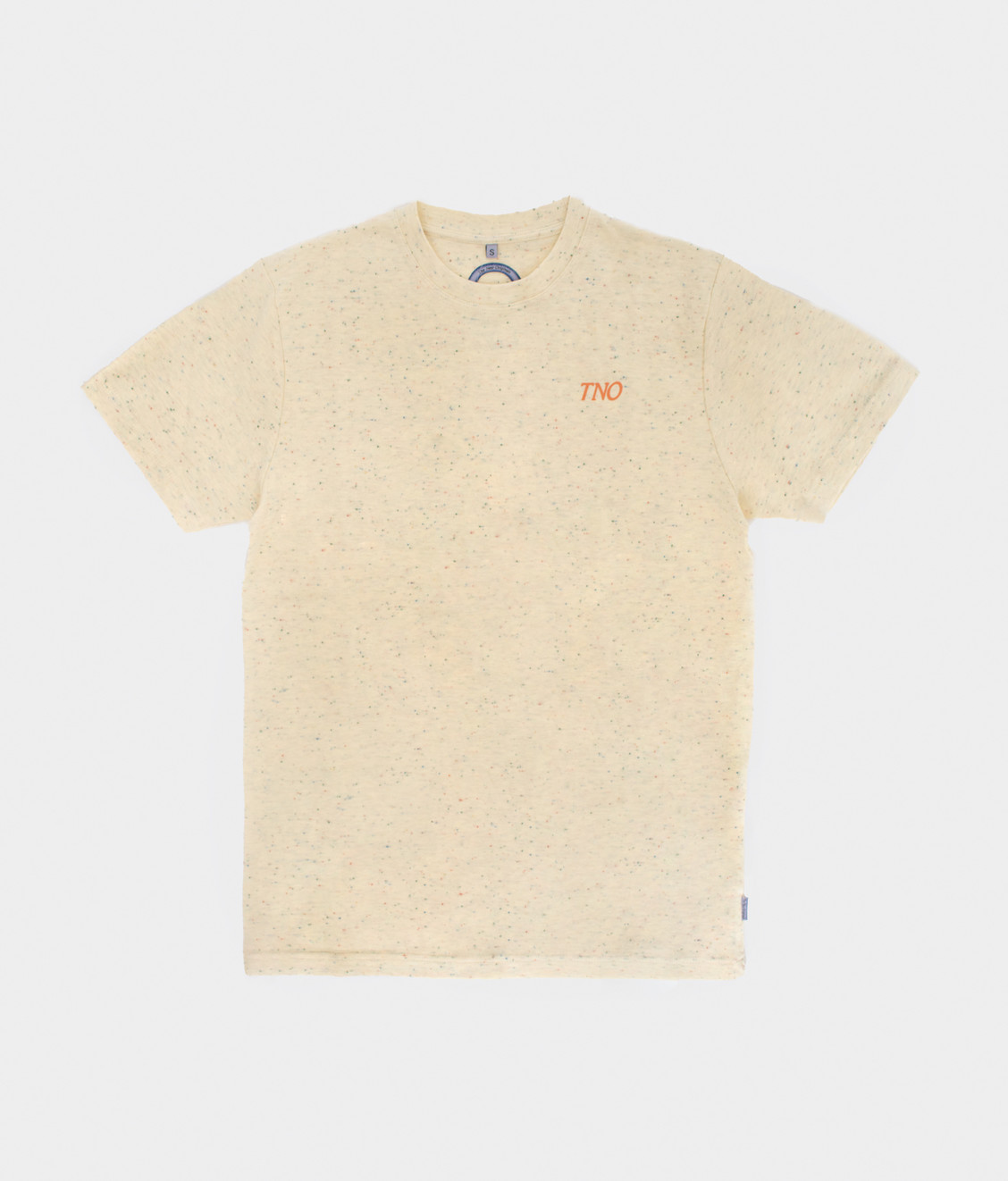 The New Originals TNO CATNA Tee Speckled Print Creme