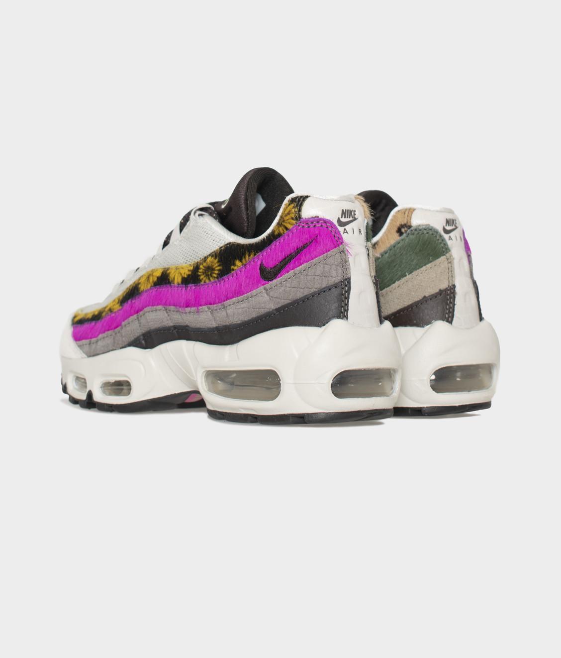 Nike Nike W Air Max 95 Prm Pony Hair Light Bone Pink Blast