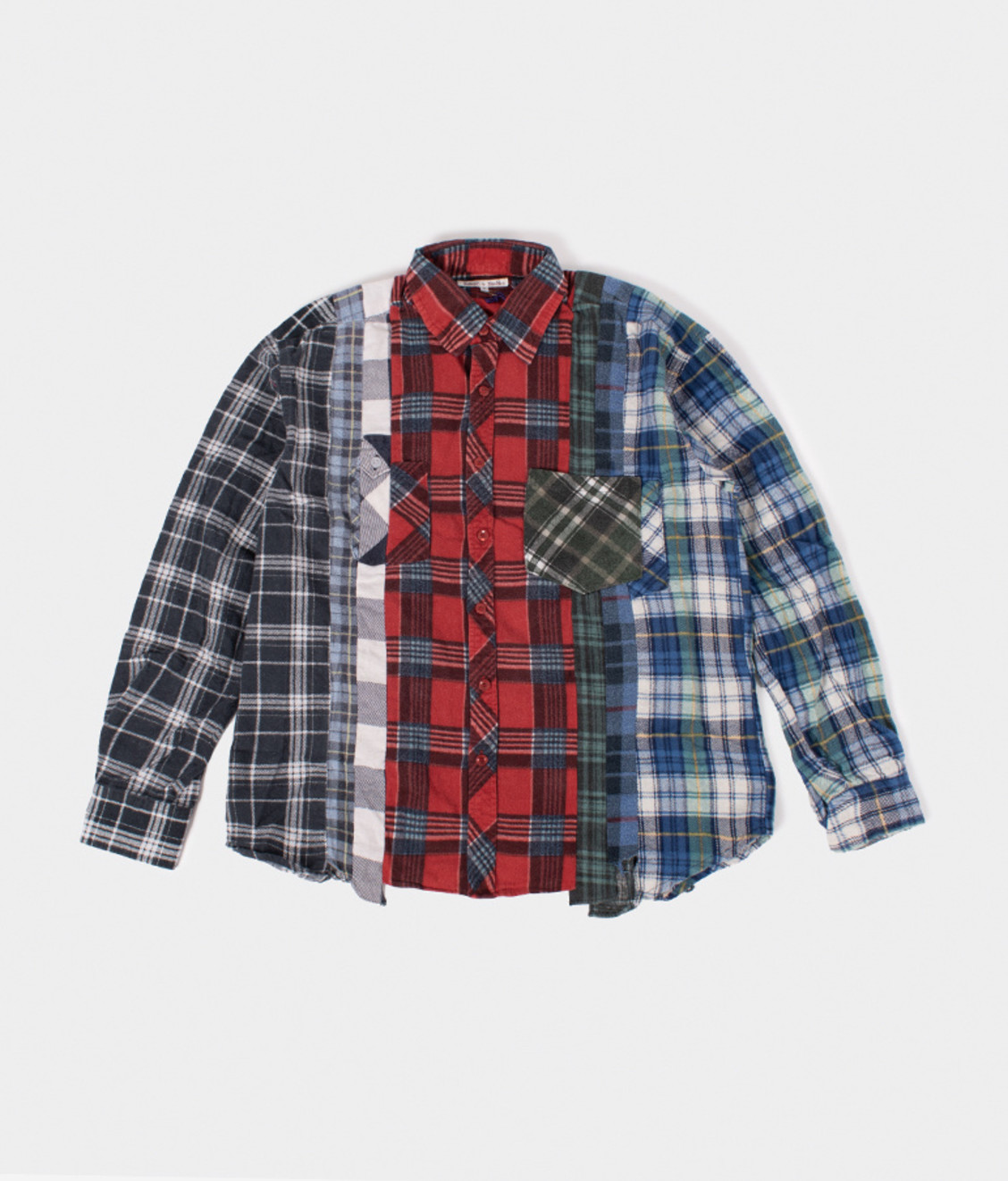 Needles Rebuild by Needles Flannel Shirt 7 Cuts Shirt