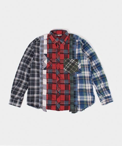 Rebuild by Needles Flannel Shirt 7 Cuts Shirt